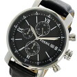 フォッシル FOSSIL クロノ クオーツ メンズ 腕時計 時計 BQ1006 ブラック【ポイント10倍】【楽ギフ_包装】