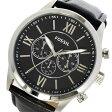 フォッシル FOSSIL クロノ クオーツ メンズ 腕時計 時計 BQ1130 ブラック【ポイント10倍】【楽ギフ_包装】
