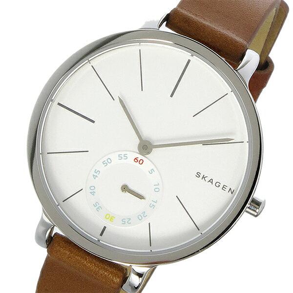 スカーゲン SKAGEN ハーゲン HAGEN クオーツ レディース 腕時計 時計 SKW2434 ホワイトシルバー【ポイント10倍】【_包装】 【ラッピング無料】