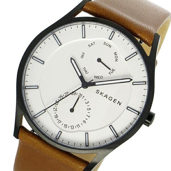 スカーゲン SKAGEN ホルスト HOLST クオーツ メンズ 腕時計 時計 SKW6317 ホワイトシルバー【ポイント10倍】【_包装】 【ラッピング無料】【セイコー 腕時計 シンプル】