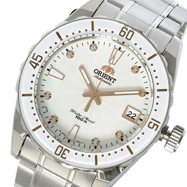 オリエント ORIENT 自動巻き ユニセックス 腕時計 時計 SAC0A002W0 ホワイト【ポイント10倍】【_包装】 【ラッピング無料】贅沢