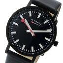 モンディーン MONDAINE クオーツ ユニセックス 腕時計 時計 A660.30314.64SBBS ブラック【ポイント10倍】
