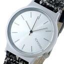 コモノ KOMONO Wizard Tweed-Cruella クオーツ レディース 腕時計 時計 KOM-W1363 マットシルバー【楽ギフ_包装】【S1】