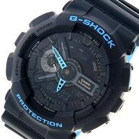 カシオ CASIO Gショック G-SHOCK クオーツ メンズ 腕時計 時計 GA-110LN-1A ブラック【ポイント10倍】【楽ギフ_包装】