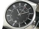 スカーゲン SKAGEN クオーツ 腕時計 時計 233XXLSLB ブラック【ポイント10倍】【楽ギフ_包装】