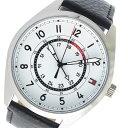 トミー ヒルフィガー TOMMY HILFIGER クオーツ メンズ 腕時計 時計 1791373 ホワイト【ポイント10倍】