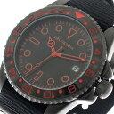 ブルッキアーナ BROOKIANA クオーツ ユニセックス 腕時計 時計 BA1702-BKOR ブラック/ブラック【ポイント10倍】
