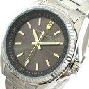 ピエールカルダン PIERRE CARDIN 腕時計 時計 メンズ PC-791 クォーツ ソーラー電波時計 ブラウン シルバー