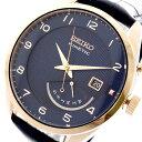 セイコー SEIKO 腕時計 メンズ SRN062P1 キネティック KINETIC 自動巻き ネイビー ダークネイビー ネイビー