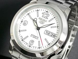 セイコー 5 SEIKO ファイブ 腕時計 時計 日本製モデル SNKE57J1【_包装】【ポイント10倍】 【ポイント10倍】大きい(大きい)
