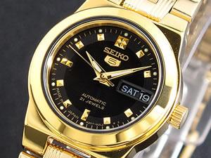 セイコー5 SEIKO ファイブ 腕時計 自動巻き レディース SYM760J1【_包装】【ポイント10倍】 【ポイント10倍】