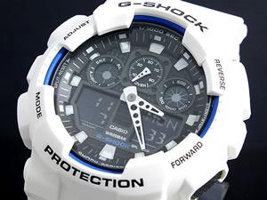 カシオ Gショック CASIO 腕時計 ハイパーカラーズ GA100B-7AH2【ポイント10倍】