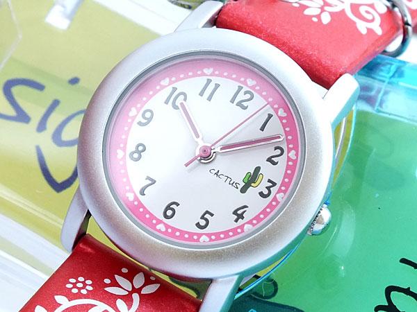 CACTUS カクタス 腕時計 時計 キッズ サンゴ CAC-28-L07【ポイント10倍】