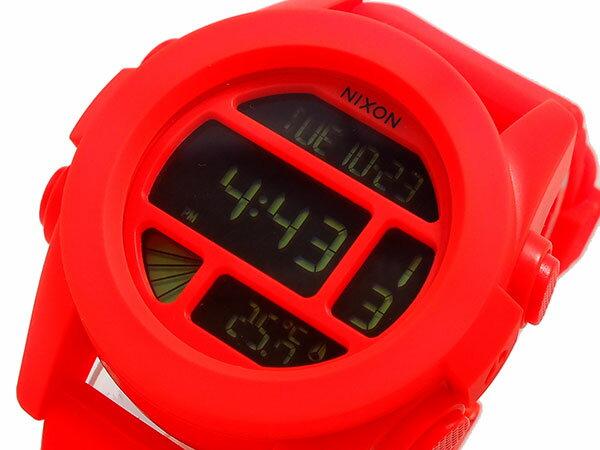 ニクソン NIXON ユニット UNIT 腕時計 時計 A197-1156 オレンジ【_包装】【ポイント10倍】 【ポイント10倍】