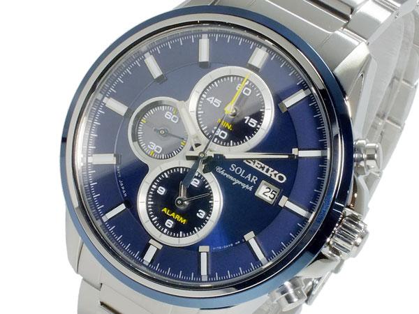 セイコー SEIKO クオーツ メンズ クロノ 腕時計 時計 SSC253P1【_包装】【ポイント10倍】 【ポイント10倍】【ラッピング無料】