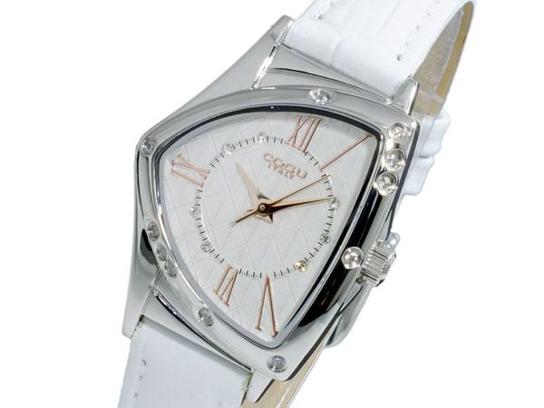 コグ COGU クオーツ レディース 腕時計 時計 BS02T-WHR【_包装】【ポイント10倍】 【ポイント10倍】【ラッピング無料】