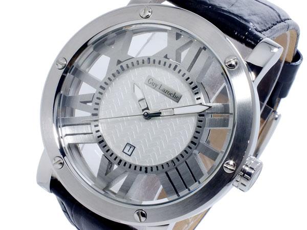 ギ・ラロッシュ Guy Laroche クオーツ メンズ 腕時計 時計 GS1401-01【_包装】【ポイント10倍】 【ポイント10倍】【ラッピング無料】
