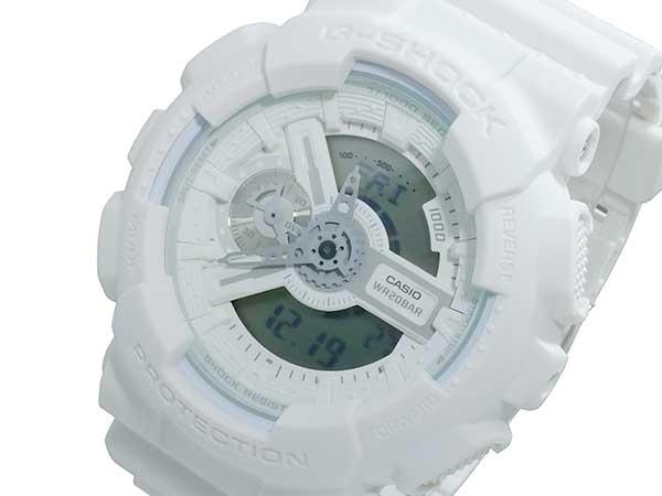 カシオ CASIO Gショック G-SHOCK アナデジ メンズ 腕時計 時計 GA-110BC-7A ホワイト【_包装】【ポイント10倍】 【ポイント10倍】【ラッピング無料】