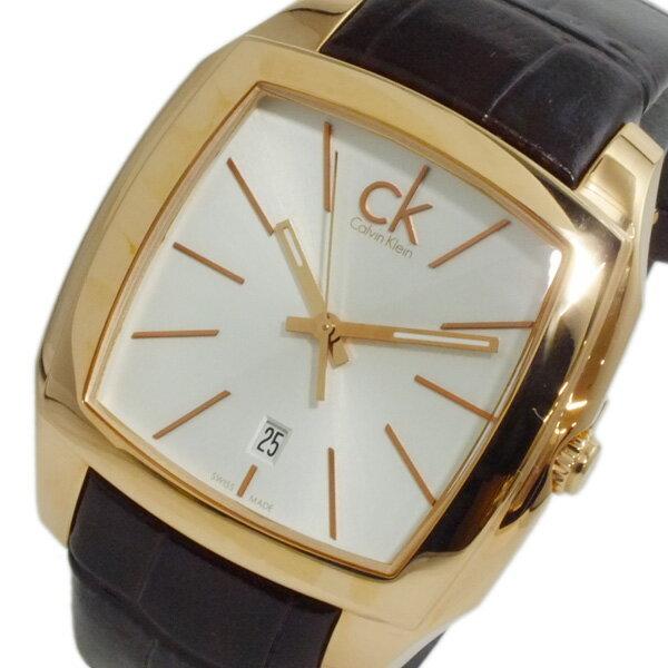 カルバン クライン CALVIN KLEIN リセス クオーツ メンズ 腕時計 時計 K2K216.20【_包装】【ポイント10倍】 【ポイント10倍】【ラッピング無料】