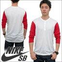 NIKE SB 【ナイキ SB】 CLASSIC DRI-FIT BLEND 七分袖 ラグラン Tシャツ【RCP】【S1】 P31Aug14