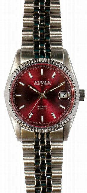 【ROGAR】ローガル メンズ腕時計 RO-061M-RB 日常生活用防水(日本製) /5点入り(き)【ポイント10倍】 【ポイント10倍】ROGAR ローガルは国内にて製造しております。
