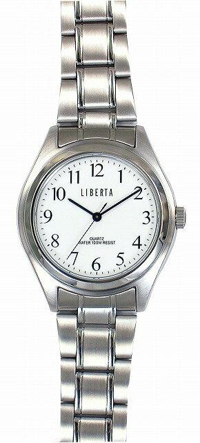 【LIBERTA】リベルタ メンズ腕時計 LI-032M-WS 10気圧防水(日本製) /5点入り(き)【ポイント10倍】 【ポイント10倍】LIBERTA リベルタは国内にて製造しております。