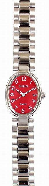 【LIBERTA】リベルタ レディース腕時計 LI-038LR 日常生活用防水(日本製) /10点入り(き)【ポイント10倍】 【ポイント10倍】LIBERTA リベルタは国内にて製造しております。