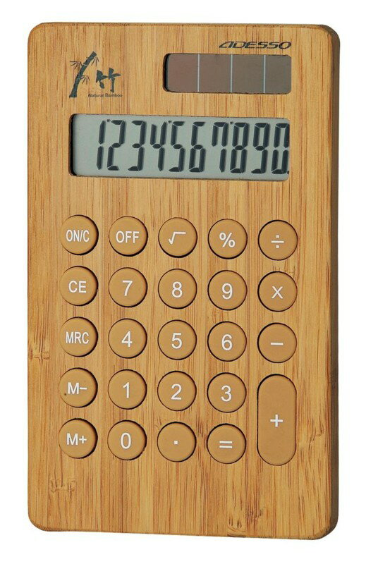 竹の電卓 8679 竹の電卓 8679/50点入...の商品画像