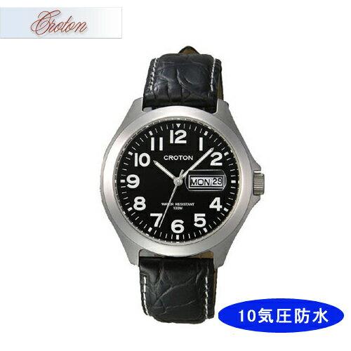 【CROTON】クロトン メンズ腕時計 RT-144M-1 アナログ表示 10気圧防水 /5点入り(き)【ポイント10倍】 【ポイント10倍】シンプルなデザインでずっと使える安定したラインナップです