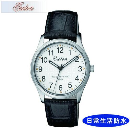 【CROTON】クロトン メンズ腕時計 RT-157M-3 アナログ表示 日常生活用防水 /5点入り(き)【ポイント10倍】 【ポイント10倍】シンプルなデザインでずっと使える安定したラインナップです