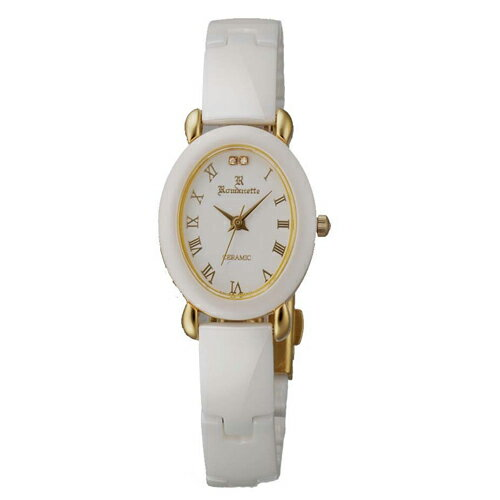 【ROMANETTE】ロマネッティ レディース腕時計RE-3512L-10 アナログ表示 K18リューズ 日常生活用防水 /10点入り(き)【ポイント10倍】 【ポイント10倍】デザイン性、機能性を兼ね備え、世界基準のクオリティを実現