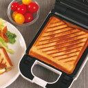 着脱式シングルホットサンドメーカー KDHS-003W 耳 6枚切り食パン対応 厚焼き プレスサンド