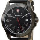 WENGER ウェンガー 腕時計 WEN70475 メンズ ALPINE ブラック【ポイント10倍】