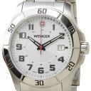 WENGER ウェンガー 腕時計 WEN70489 メンズ ALPINE ホワイト/シルバー【ポイント10倍】