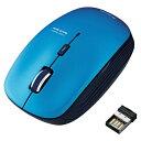 ワイヤレスBlueLEDマウス/5ボタン/ブルー エレコム M-BL21DBBU(代引き不可)【ポイント10倍】