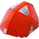 ミドリ安全 防災用折りたたみヘルメット フラットメット TSC-10 オレンジ TSC10OR