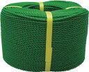 ユタカ ロープ PEロープ巻物 3φ×200m グリーン【PE-73】(ロープ・ひも・ロープ)【ポイント10倍】