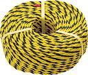 TRUSCO 標識ロープ 3つ打 7.5mm×20m【R-920T】(ロープ・ひも・標識ロープ)【ポイント10倍】