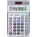 カシオ計算機 実務電卓 12桁 ジャストタイプ 検算機能付き ブリスターパッケージ JS-20WK-N【ポイント10倍】