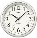 CASIO (カシオ) 常時点灯機能付き 電波アナログ壁掛け時計 ホワイト IQ-1050NJ-7JF【ポイント10倍】