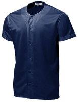 ベーシックベースボールシャツ P-2700 【S〜3Lサイズ】 ネイビー【S1】の画像