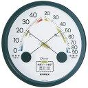 EMPEX (エンペックス) 温度・湿度計 エスパス 温度・湿度計 壁掛用 TM-2332 ブラック【ポイント10倍】