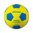 ミカサ(MIKASA) スマイルサッカーボール 4号球 イエロー×ブルー SF4JYBL