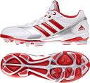 adidas(アディダス) adiPURE ポイント 2 K Q16974 【カラー】クリスタルホワイト/パワーレッド/パワーレッド 【サイズ】195【ポイント10倍】