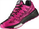 adidas(アディダス) vengeful boost W AQ6095 【カラー】ショックピンクS16×コアブラック×ショックパープルF16 【サイズ】235【ポイント10倍】