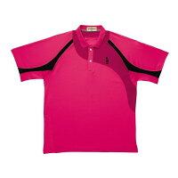 GOSEN(ゴーセン) T1410 ゲームシャツ T1410 【カラー】ルビーレッド 【サイズ】S【ポイント10倍】【送料無料】の画像
