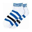 バタフライ(Butterfly) 卓球アパレル FLEBAL SOCKS(フレバル・ソックス) 92080 【カラー】ブルー 【サイズ】M【ポイント10倍】