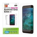 エレコム Android One S3用フィルム/防指紋/反射防止 PM-AOS3FLF(代引不可)