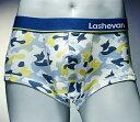 ラシュバン LASHEVAN プレミアム アンダーウエア ボクサーパンツ パンツ LS0117-CGM カモグリーン/2XL【あす楽対応】【送料無料】