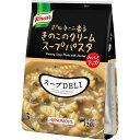 クノールスープDELI ポルチーニ香るきのこのクリームスープパスタ 3食入 袋 味の素